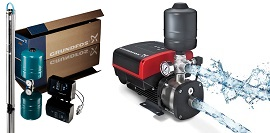 Grundfos Constant Pressure Submersible System